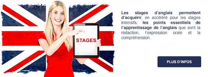 stages intesifs anglais